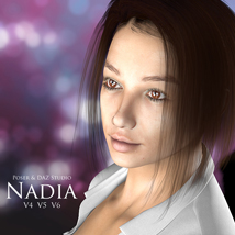 Nadia for V4, V5 & V6 3D Figure Essentials adamthwaites