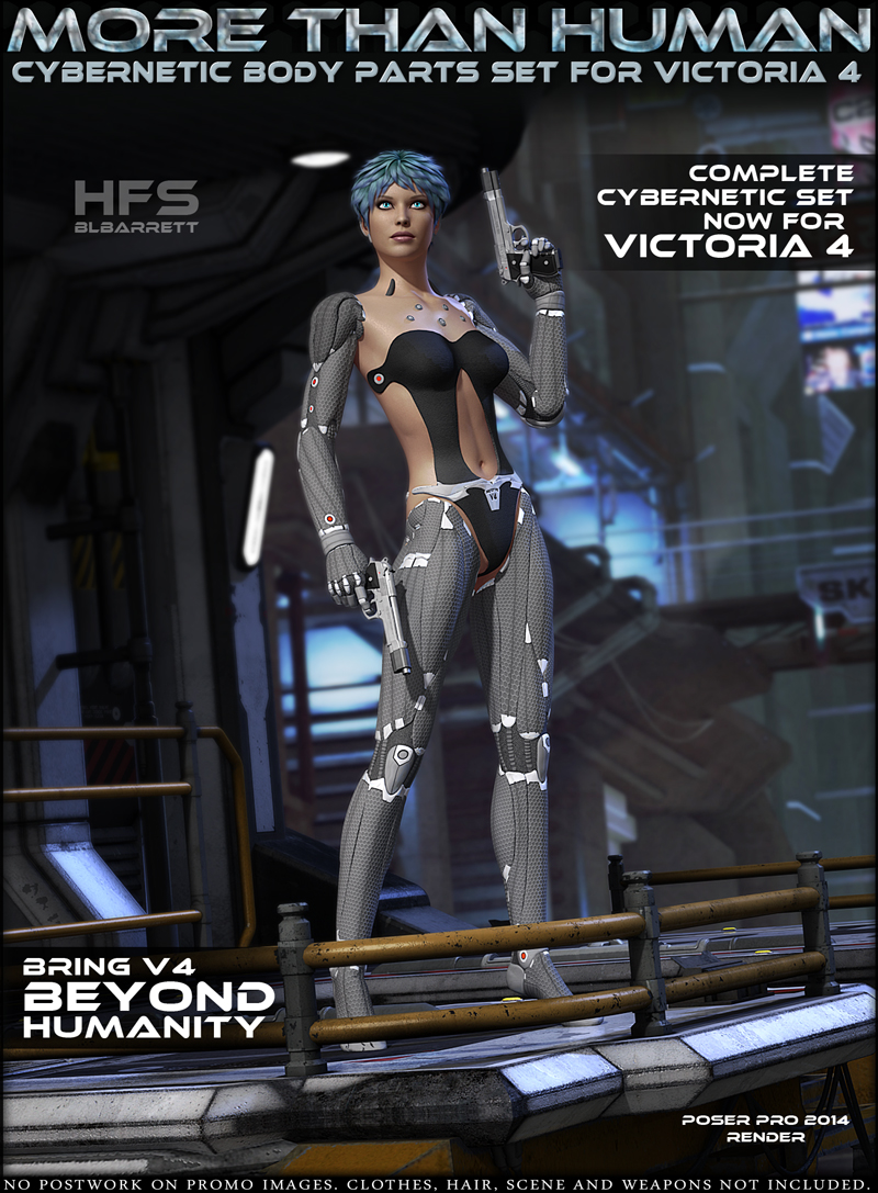 HFS - MoreThanHuman for Victoria 4
