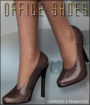 Office Shoes G2F 3D Figure Assets 3D Models lilflame