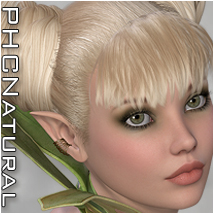 PHCNatural : SAV Greek Fantasy II Themed Hair Software P3D-Art
