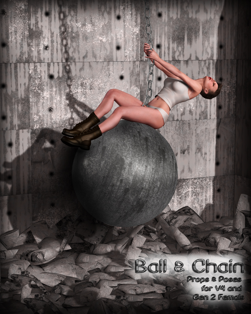 Ball & Chain for V4 and Gen 2 Females