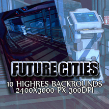Future Cities 2D And/Or Merchant Resources Themed lexana