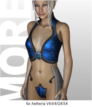 MORE Textures & Styles for Aetheria 3D Figure Assets 3D Models motif