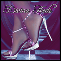 Divina Heels 3D Figure Essentials SynfulMindz