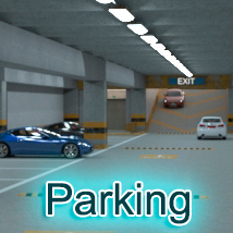 AJ Parking 3D Models -AppleJack-