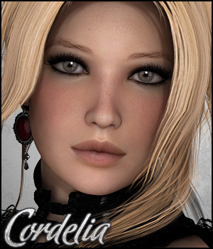 Cordelia 3D Figure Essentials 3D Models Silver