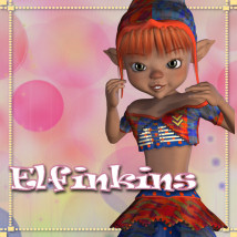 Elfinkins Stand Alone Figures Clothing Themed JudibugDesigns