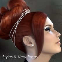 RapsodyHair-Styling 3D Figure Essentials fabiana