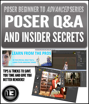 PB2A Poser Q&A and Insider Secrets Tutorials : Learn 3D ironman13