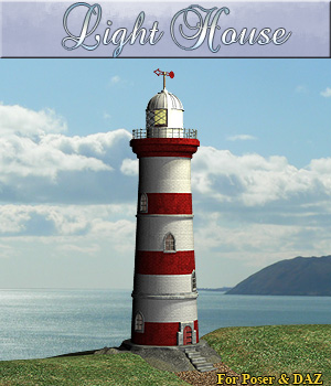 Light House Props/Scenes/Architecture Themed Software Simon-3D