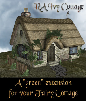 RA Ivy Cottage 3D Models RAGraphicDesign
