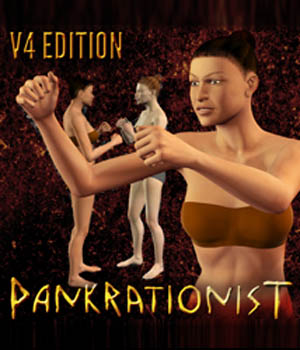 Pankrationist for V4 3D Figure Assets gmm2
