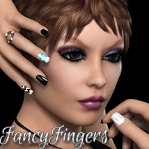 Fancy Fingers Salon 2D Graphics Merchant Resources 3DSublimeProductions