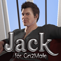 Jack for Gn2Male 3D Figure Essentials vulcanis