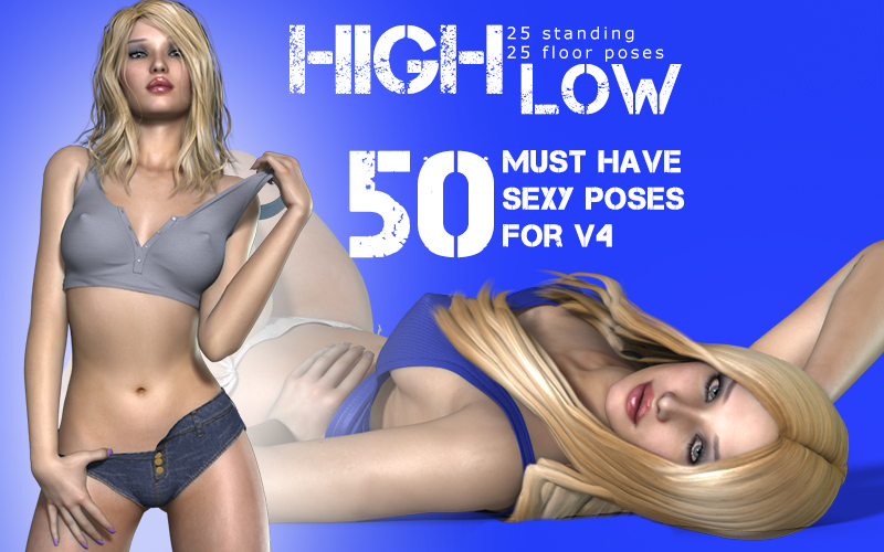 i13 High Low Poses for V4