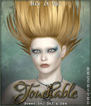 Touchable Hr-122 Hair Themed -Wolfie-