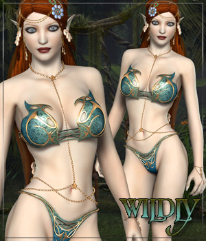 WILDLY for Lois Fantasykini 3D Figure Essentials 3D Models Anagord