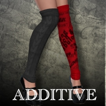 Additive for Monster Socks Clothing Bow3D