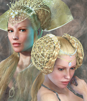 SAV Royal for Greek Fantasy II  Hair Accessories Themed Software StudioArtVartanian