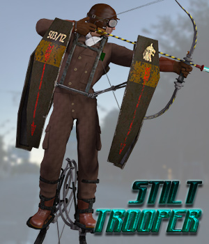 Stilt Trooper 3D Models 3D Figure Assets Cybertenko