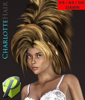 PW Charlotte Hair V4 A4 G4 DAWN Hair powerage