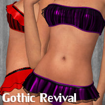 Gothic Revival for Amour Clothing ANG3L_R3D