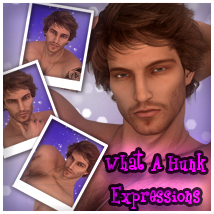 What A Hunk!! Expressions For Genesis 2 Male 3D Figure Assets -dragonfly3d-