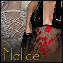 Malice for Laced Up Clothing Themed Sveva