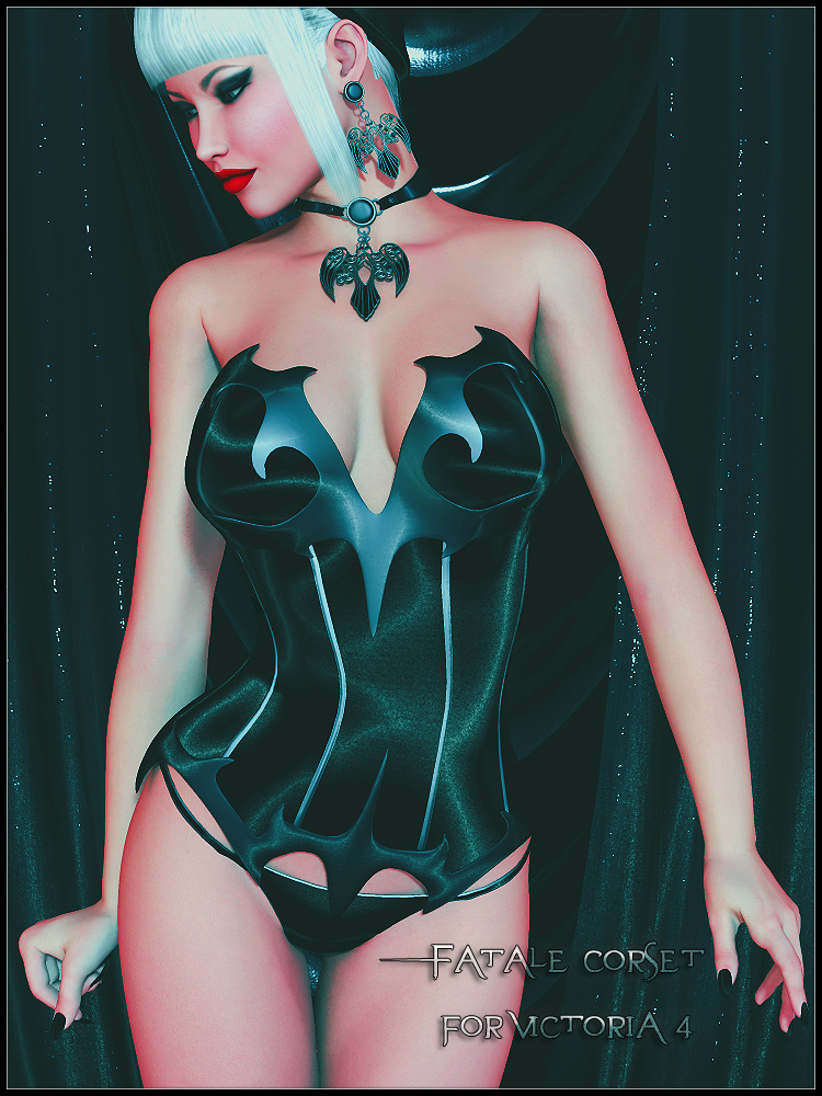 Fatale Corset by SynfulMindz
