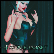 Fatale Corset 3D Figure Essentials SynfulMindz