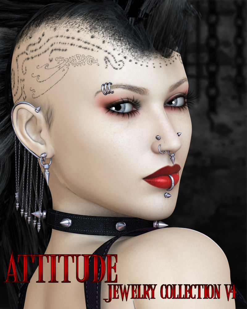 Attitude - Jewelry Collection V4