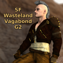 SF Wasteland Vagabond G2 3D Figure Essentials SickleYield