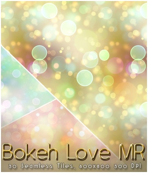 MR-Bokeh Love 2D Graphics Sveva