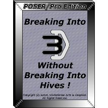 BREAKING INTO 3D:  Poser/Pro Edition Tutorials 2D rolow