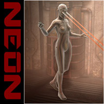 Oskarssons Neon 3D Figure Essentials Oskarsson