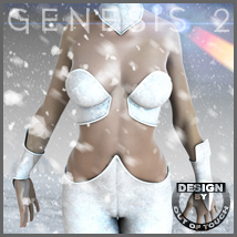 Sci Frost for Genesis 2 Female(s) Clothing Themed outoftouch