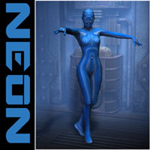 Neon Materials 3D Figure Essentials Oskarsson