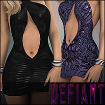 Defiant for Crossed Dress 3D Models 3D Figure Essentials Silver