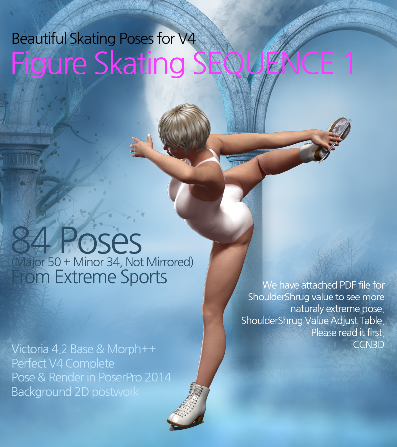 Figure Skating SEQUENCE 1