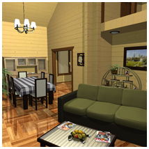 STZ Modern cottage Props/Scenes/Architecture Themed Software santuziy78