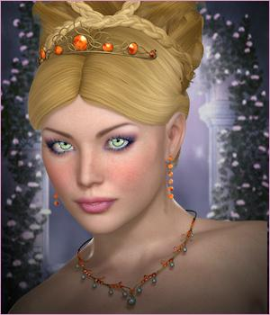 Dazzle for Princess Collection 02 3D Figure Essentials 3D Models -Wolfie-
