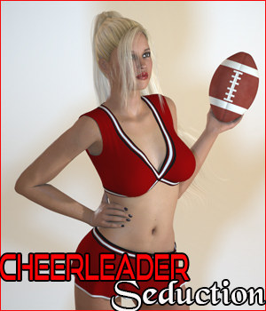 Z Cheerleader Seduction 3D Figure Assets 3D Models Zeddicuss
