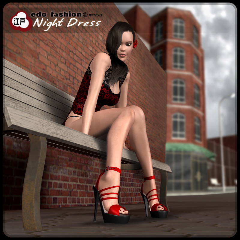 Edo Fashion - Night Dress
