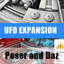 Ufo Expansion Props/Scenes/Architecture Stand Alone Figures Transportation circleman