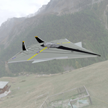 FA-70 Panther (for Poser) Themed Transportation VanishingPoint