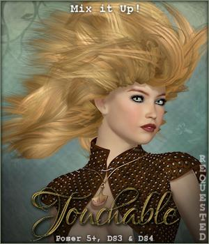 Touchable Sophie 3D Models 3D Figure Essentials -Wolfie-