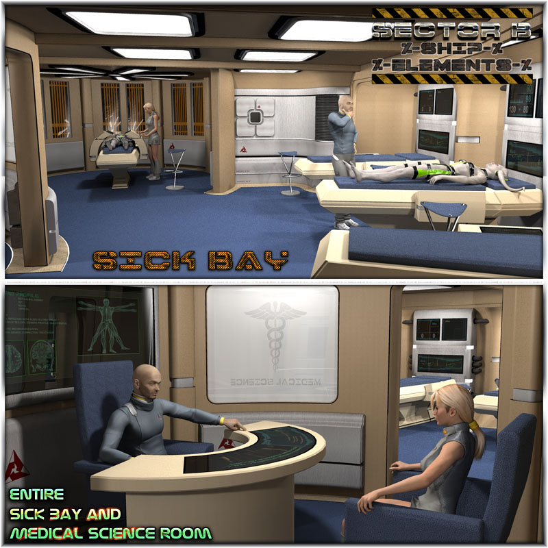 Ship Elements B4: Sick Bay