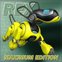 Sci-fi puppy Rex Maximum Edition  Stand Alone Figures Themed Animals Characters Props/Scenes/Architecture darkvisionary