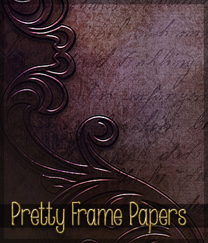 Pretty Frame Papers Themed 2D And/Or Merchant Resources Sveva