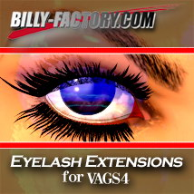 V4 Eyelash Extensions 3D Figure Assets billy-t